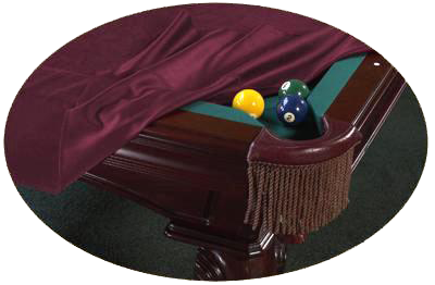 Custom Cloth Pool Table Covers