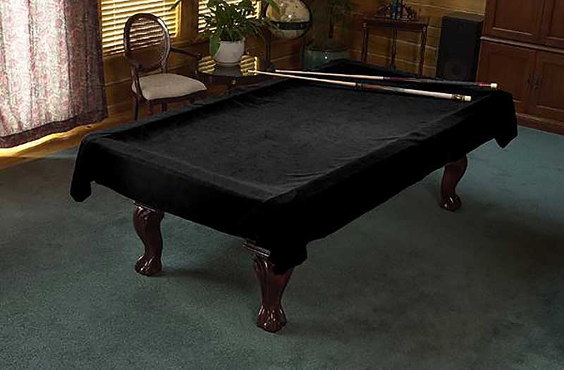 Superbe Custom Cloth Pool Table Cover Plain Pon